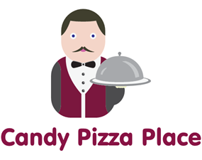 Logo Candy Pizza Place