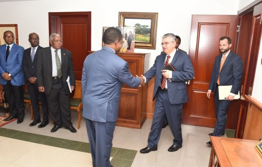 Reunión del Primer Ministro con directivos del FMI