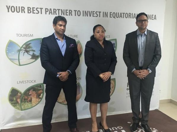 Holding Guinea Ecuatorial recibe a una delegación de Dubai